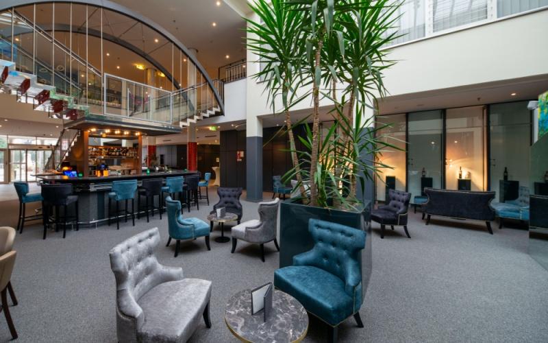 Ihr Hotel im Herzen St. Pöltens-Gemütliche Lounge
